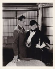 ROBERT MONTGOMERY UNA MERKEL Original Vintage 1931 PRIVATE LIVES MGM Photo