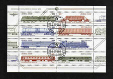 Russia 1985 Railway Rolling Stock set of 8v. (sheetlet) (SG 5564-71) used