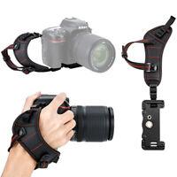 JJC Soft Hand Grip Wrist Strap for Canon Nikon Sony Olympus Pentax DSLR Cameras