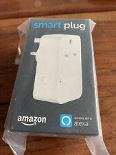 Amazon Smart Plug Works with Alexa White Brand New and unopened