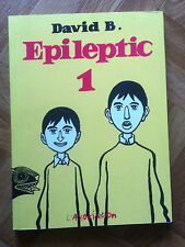 EPILEPTIC TOME 1 DAVID B. (LANGUE ANGLAISE) VERY FINE (C34)