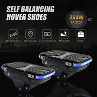 250W Drift Hovershoes Smart Self-balancing One Wheel Electric Shoes Hover Shoes