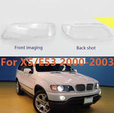 BMW X5/E53  2000-2003 Headlight Lens Cover Shell PAIR LEFT + RIGHT