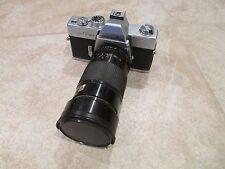 Minolta SRT-201,  35mm SLR Film Camera w/Vivitar 28-90mm f/2.8-3.5 Lens