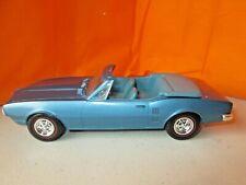 Vintage 1967 Pontiac Firebird Convertible Dealer Promo Car 1:25 No Box