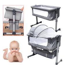 Beistellbett Wiege Reisebett Babyreisebett Babybett Kinderbett Einstellbare 25Kg