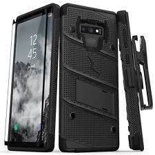 Zizo BOLT Case for Samsung Note 9 W/ Holster and Tempered Glass 9H