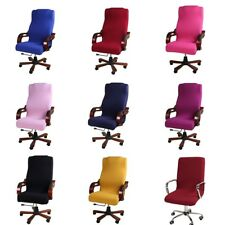 Study Office Armchair Computer Swivel Rotating Desk Chair Cover Protector Decor