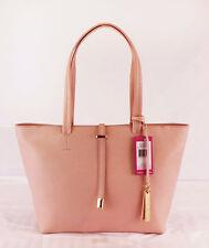 """VINCE CAMUTO """"LEILA"""" Garden Rose Saffiano Leather Tote Shoulder Bag Msrp $148"""