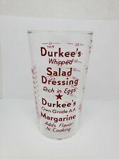 Vintage advertising measuring glass - Durkee's Salad Dressing (1380)