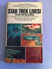 STAR TREK LIVES! Personal Notes and Anecdotes Paperback Bantam Books 1st Printin