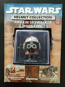 "Star Wars Helmet ""Anakin Skywalker Podracer"" Issue 17 ""Deagostini"" Collection"
