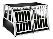 TecTake 402226 Double Dog Crate without Partition Wall
