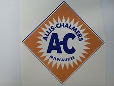 Diamond Shape Allis Chalmers Sticker