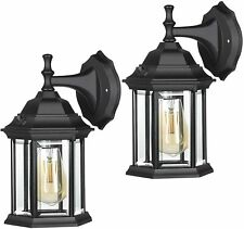 Nbhanyuan Lighting Led Outdoor Wall Light Fixtures Outside Light Blk Stainless