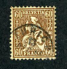 Switzerland, Scott #48, Used, 1862