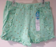 New With Tags Lightning Bug Green/Gold Sparkle Polka Dot Shorts Size 6