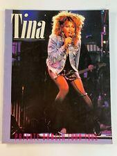 TINA TURNER Private Dancer Tour 1985 Old Original Vintage Concert Program