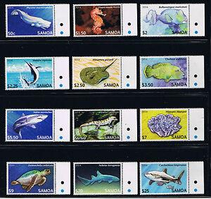 Samoa - Marine Life Definitives Postage Stamp Issue