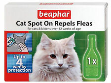 Beaphar Cat Flea Spot On 4 Week Pack CG17811/6
