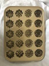 William Sonoma Nordic Ware Flower Petits Fours Pan NEW
