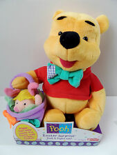 DISNEY WINNIE THE POOH & PIMPI Pasqua Sorpresa PELUCHE COCCOLONE giocattolo Fisher Price