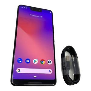 Google Pixel 3 XL 128GB Just Black Factory Unlocked (CA) Smartphone BEST DEAL