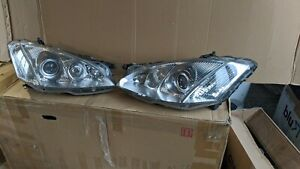 07 08 09  W221 S550 S63 S500 pair. LEFT RIGHT  Headlights 2007 2008 2009
