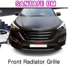 (Fits: Hyundai 2014+ Santafe DM) Front Radiator Grille [Phantom black]