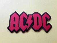 AC/DC Patch Embroidered Iron On Or Sew On Badge