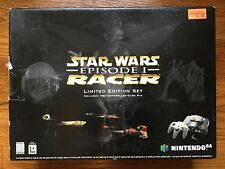 NEW Nintendo 64 Star Wars: Episode I Racer Bundle Black Edition Console System