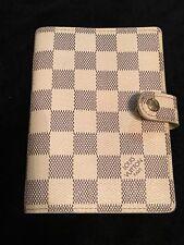 Louis Vuitton Damier Azur Notebook Diary Agenda Case