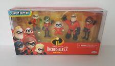 PARR The Incredibles 2 Set of 5 Figures Family. Dash Jack Violet Elasticgirl.