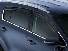 "Kia Sportage QL MY16 Onwards Slimline Door Visors ""Clear"" D9A22APK00"