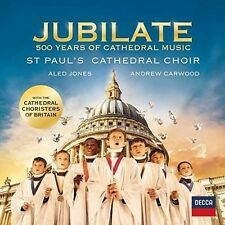 JUBILATE: 500 YEARS OF CATHEDRAL MUSIC (JONEY, CARWOOD, HÄNDEL,...)  CD NEU