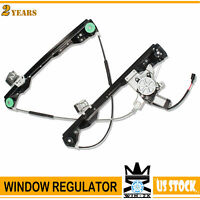 Front Driver Side Power Window Regulator with Motor For fit 00-07 Ford Focus