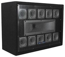 Technical Pro TW110 500 Watt Carpeted 11-Way DJ Tweeter Box Array System
