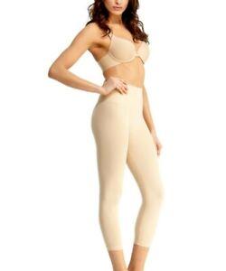 NIP SlimMe MeMoi High Waist Legging Small Nude Control Shapewear MSM-110 HTF