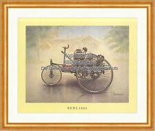 Benz 1885 Patent Motorwagen Nummer 1 Speichen Lenkstange Oldtimer 06