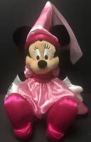 "Princess Minnie Mouse Plush 22"" Disneyland Walt Disney World Parks Rare W/Tags"