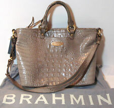 Brahmin Mini Alden Revolution Melbourne Taupe Leather Shoulder/Handbag D51151RV