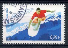 STAMP / TIMBRE FRANCE OBLITERE N° 3694 SPORT DE GLISSE / SURF
