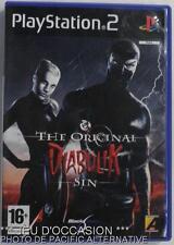 COMPLET Jeu DIABOLIK THE ORIGINAL SIN playstation 2 PS2 sony francais action  #1