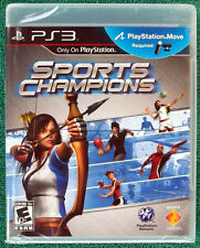 Rare Sealed Sony Sports Champions PS3 Playstation 3 Video Game