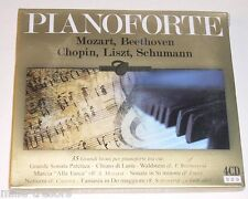 Coffret 4 CD Pianoforte : MOZART - BEETHOVEN - CHOPIN - LISZT - SCHUMANN