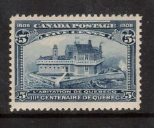 Canada #99 VF/NH Hairlines Through CANADA POSTAGE Variety **With Certificate**