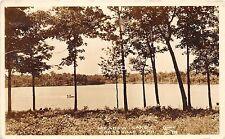 C66/ Crossville Tennessee Tn Postcard Real Photo RPPC 1943 Cline Meadow Lake