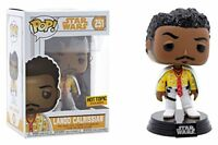 Solo A Star Wars Story Lando Calrissian Funko Pop Vinyl  HOT TOPIC EXC DAMAGED