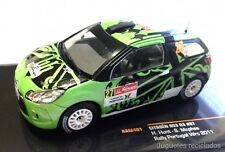 IXO MODELS CITROEN DS3 R3 Hunt  RAM461 Rally POrtugal Wrc 2011 DIECAST
