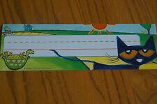 Edupress EP 63370 Pete the Cat Nameplates Teaching Supplies